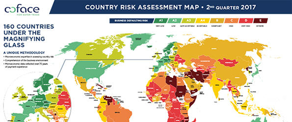 Coface Country Risk Map 06.2017